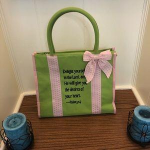 Handbags - Adorable purse or bible cover; like new!